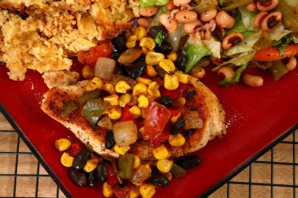 Grilled Tex-Mex Salad