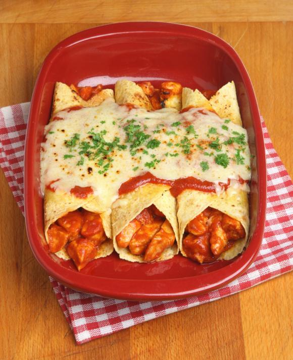 Vegetable Burrito Casserole