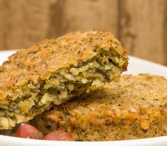 Vegetarian Nut Patties