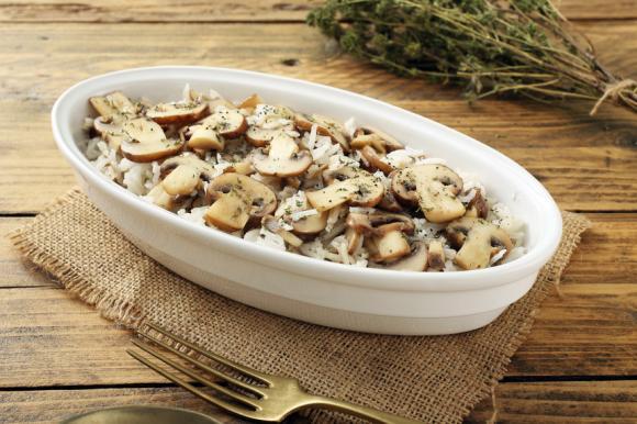 Creamy Mushroom Rice
