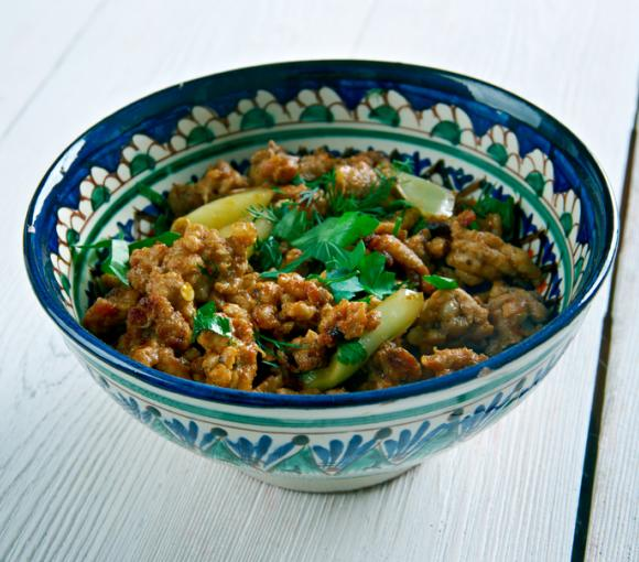 Indian Keema With Ginger