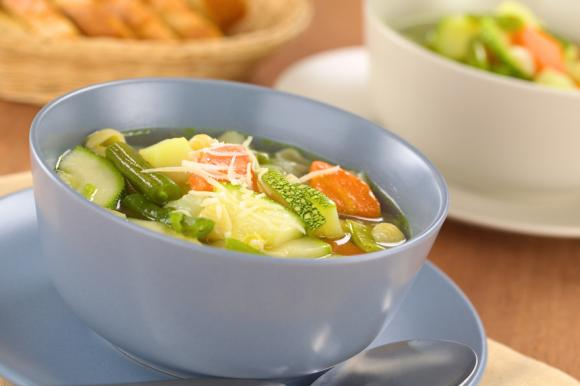 Green Bean, Courgette And Potato Stew