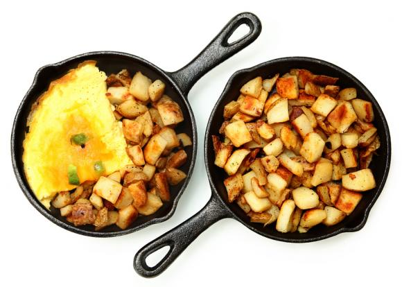 Ham And Potato Skillet