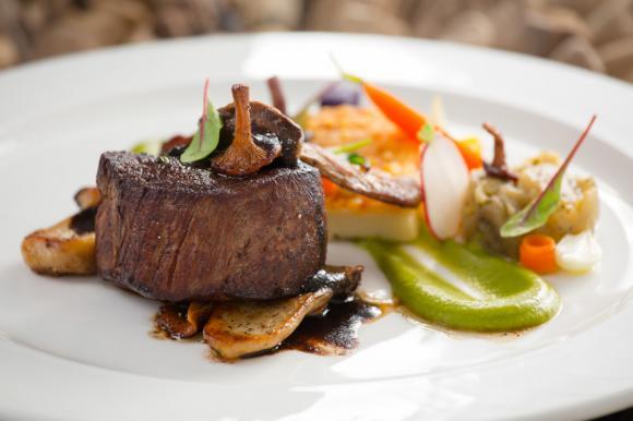 Beef Tenderloin With Spring Vegetables