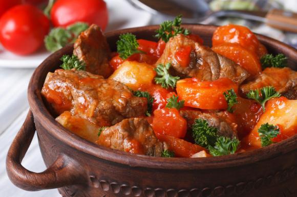 Lamb And Tomato Casserole