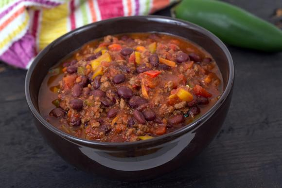 Lamb And Black Bean Chilli
