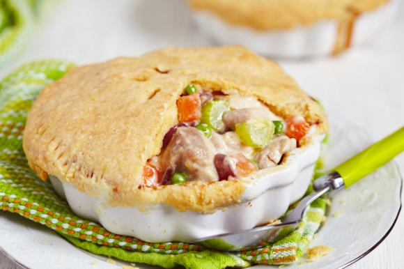 Grandma's Breaded Chicken Pot Pie