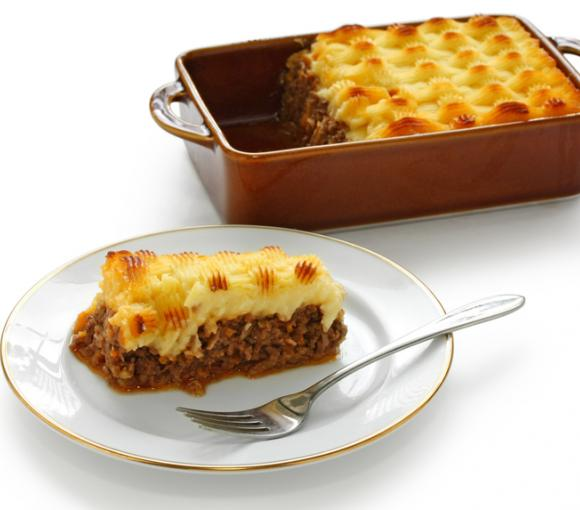 Minced Beef And Potato Casserole