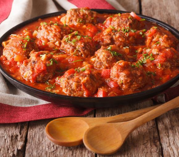 Meatballs & Spaghetti Sauce