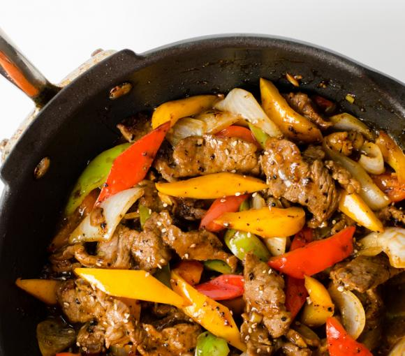 Pepper Steak Stir-Fry
