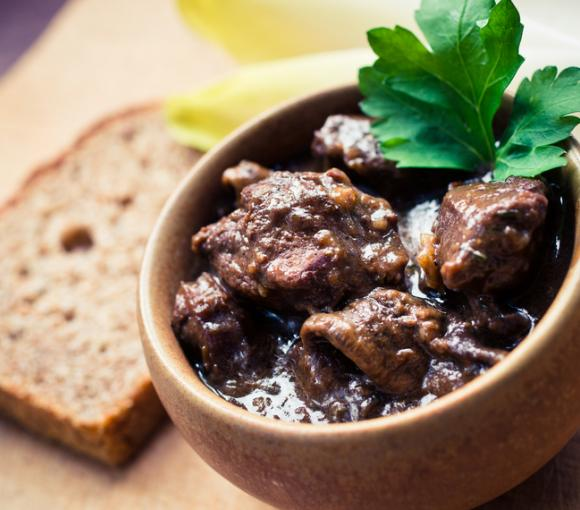 Asian Style Beef Burgundy