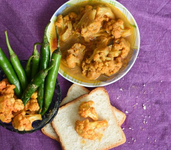 North Indian Chicken & Cauliflower Curry