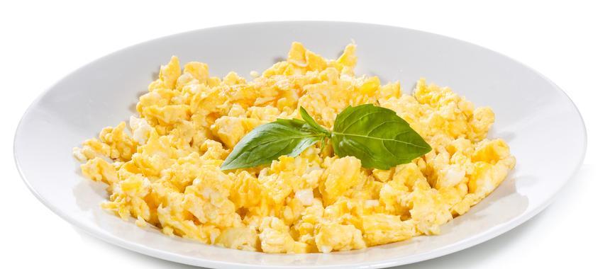 Sour Cream Scrambled Eggs recipe