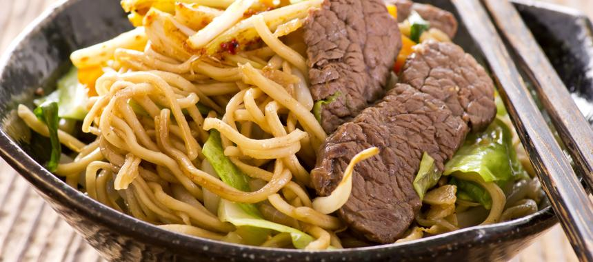 Beef And Noodle Bowl recipe