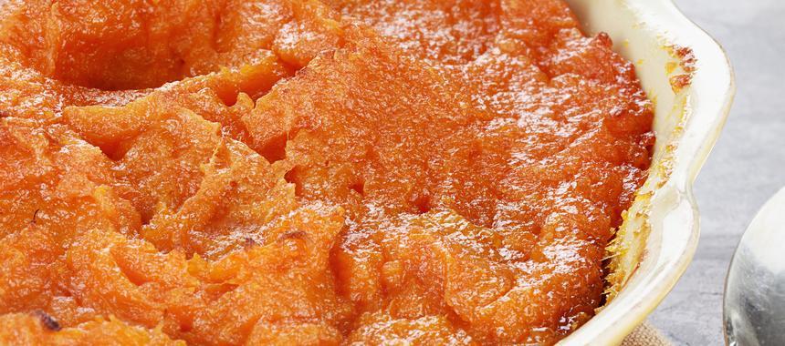 Grated Sweet Potato Casserole recipe