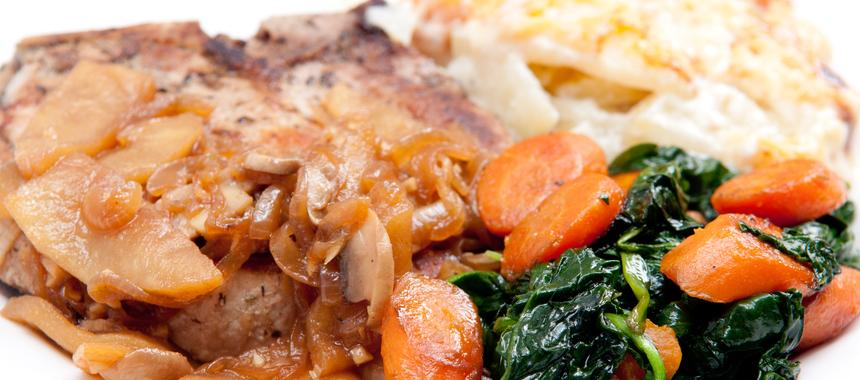 Onepot Pork Chops And Potatoes recipe