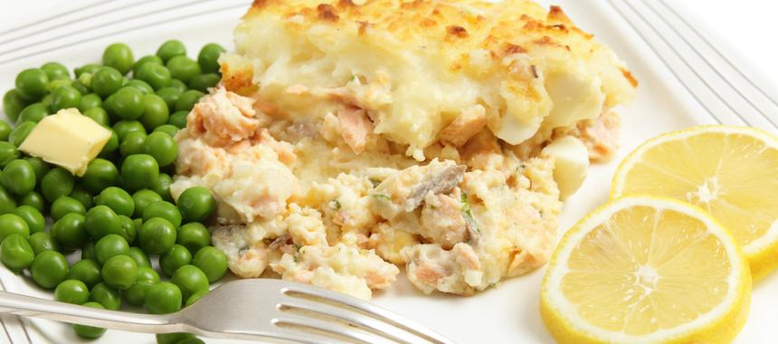 Simple Salmon Pie recipe
