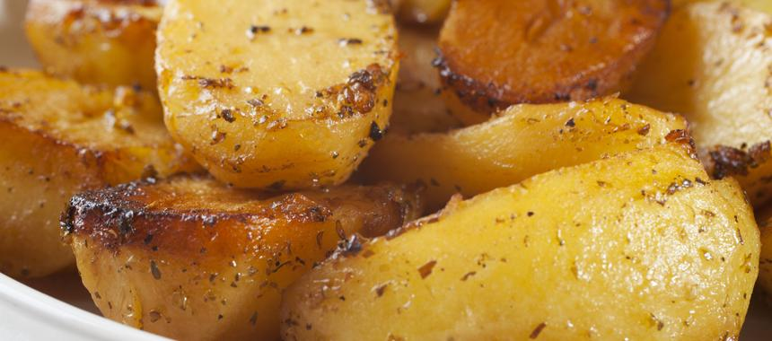 Roasted Potatoes With Lemon, Oregano And Garlic recipe