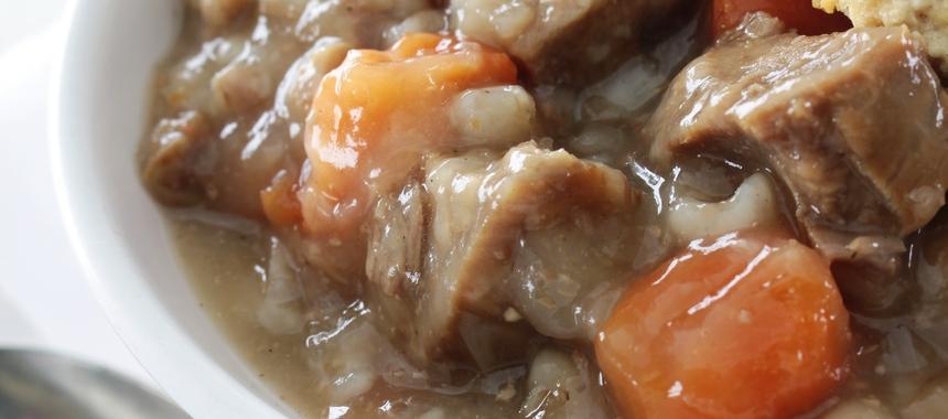Traditional Lamb Stew With Parsley Dumplings recipe