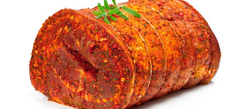 Roast Lamb With Pesto recipe