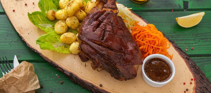 Barbecue Butterflied Leg Of Lamb recipe
