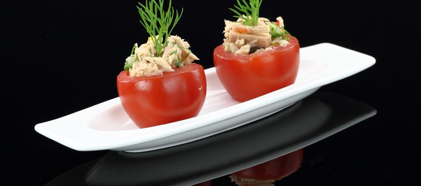 Tuna-Stuffed Tomatoes recipe