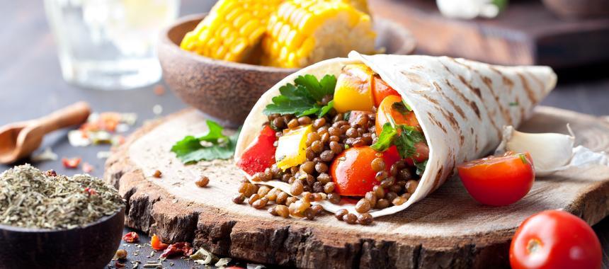 Grilled Vegetable Fajitas recipe
