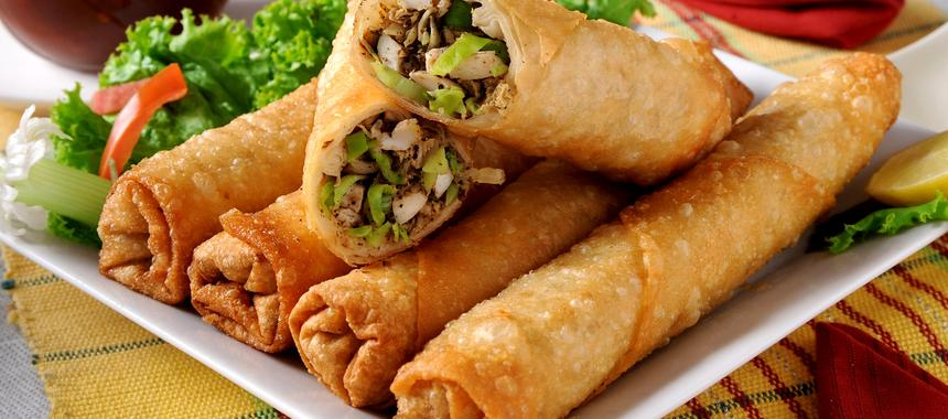 Vegetarian Chimichangas recipe