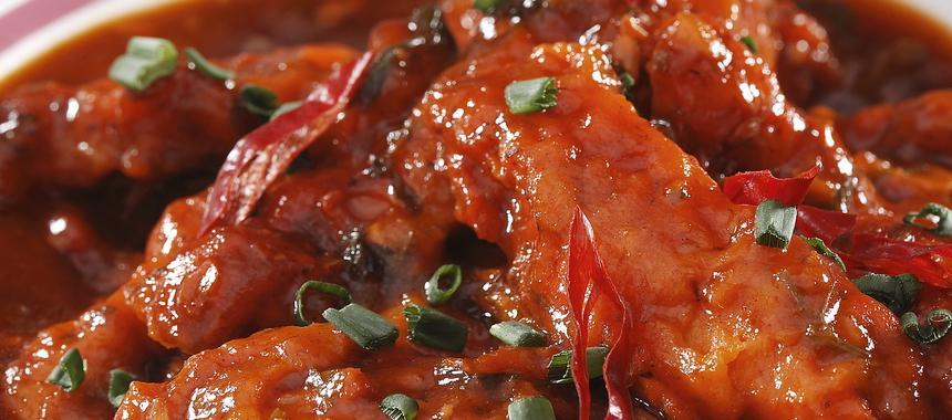 Spicy Szechwan Chicken recipe