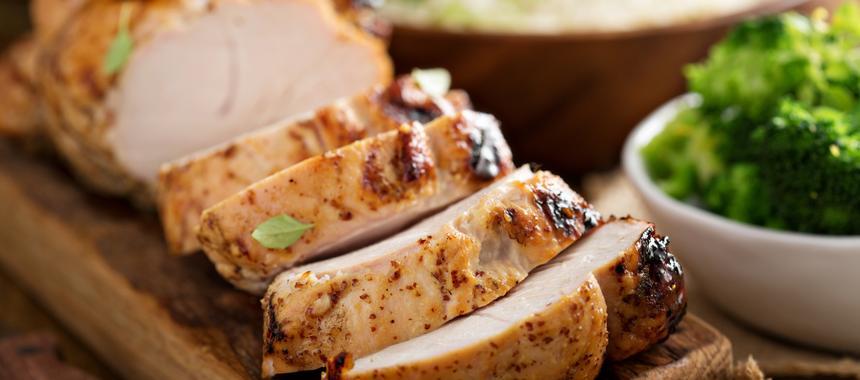 Bourbon And Mustard Glazed Turkey recipe