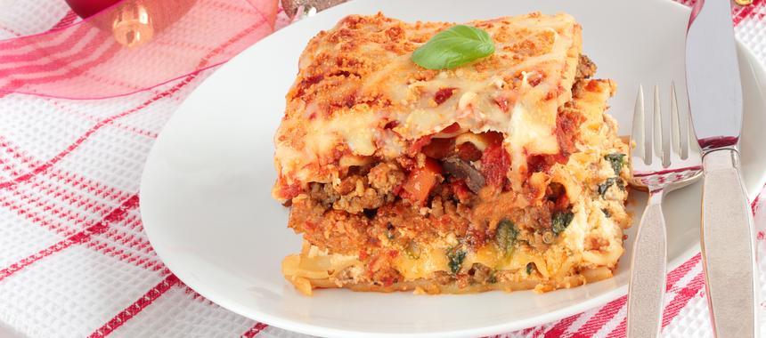 Lasagna Della Vigilia (Christmas Eve Lasagne) recipe