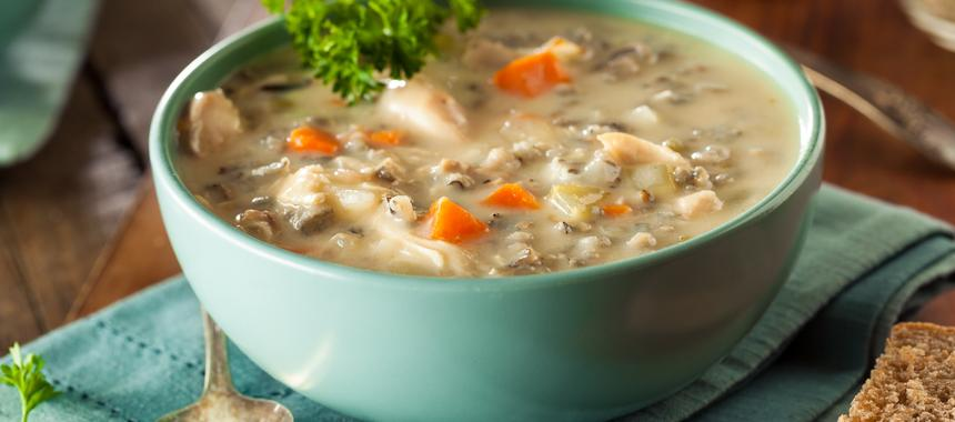 Turkey Rice Soup recipe
