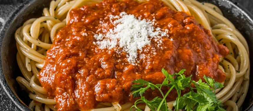 Slow Cooker Spaghetti And Meat Sauce recipe