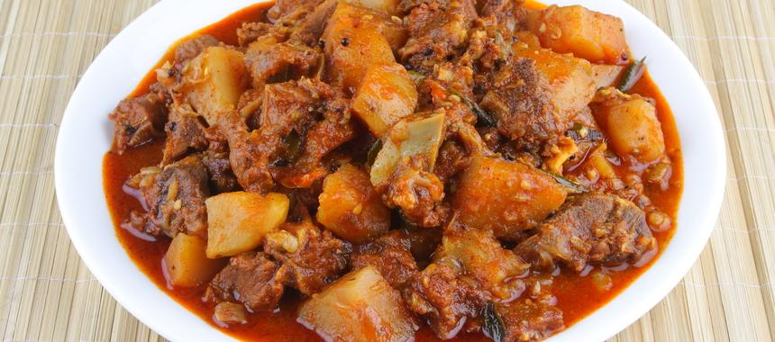 Beef And Potato Curry recipe