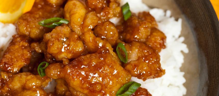 Chicken In Spicy Orange Sauce recipe