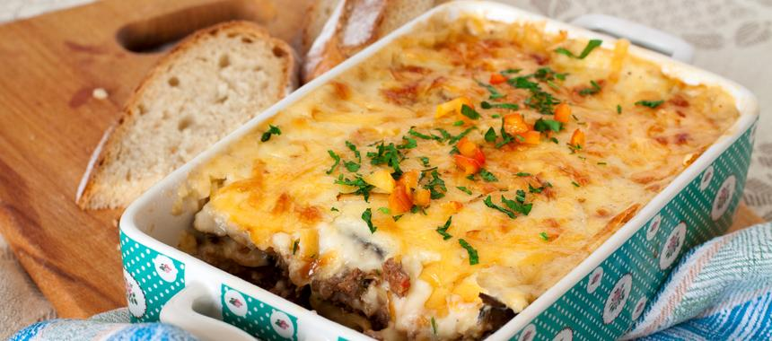 Greek Style Moussaka recipe