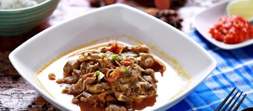 Gulai Kambing (Spiced Lamb) recipe