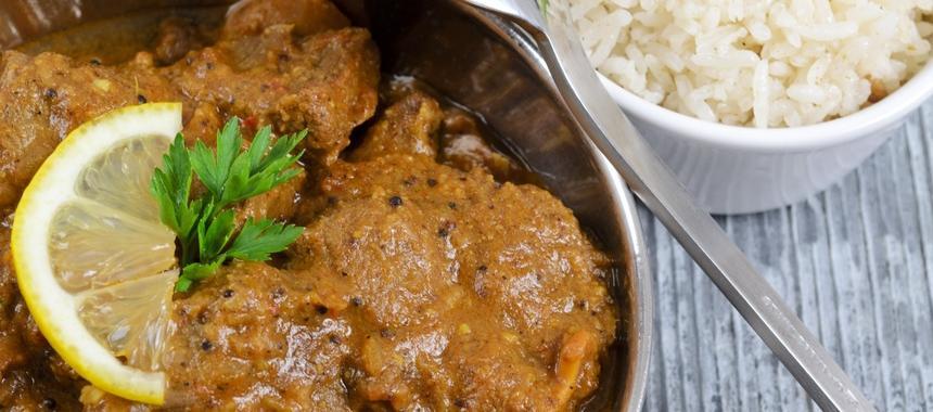 Lamb & Mushroom Korma recipe