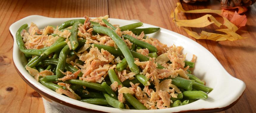 Green Bean & Onion Casserole recipe