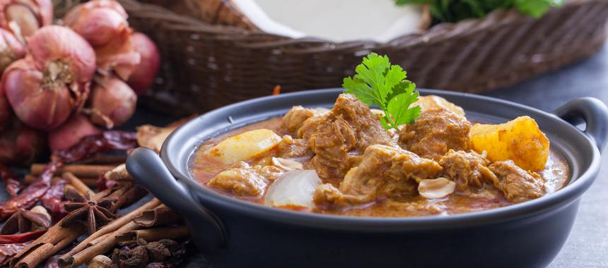 Curried Beef And Potatoes recipe