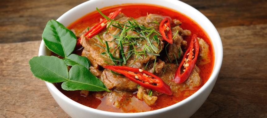 Beef Panang recipe
