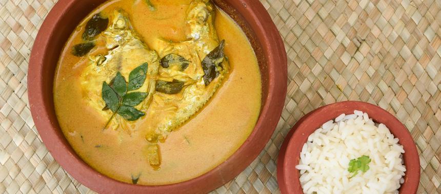 Malaysian Spiced Coconut Fish recipe