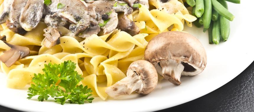 Mushroom Strognoff recipe