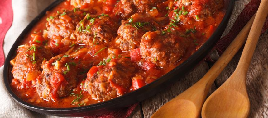 Meatballs In Chilli Sauce recipe