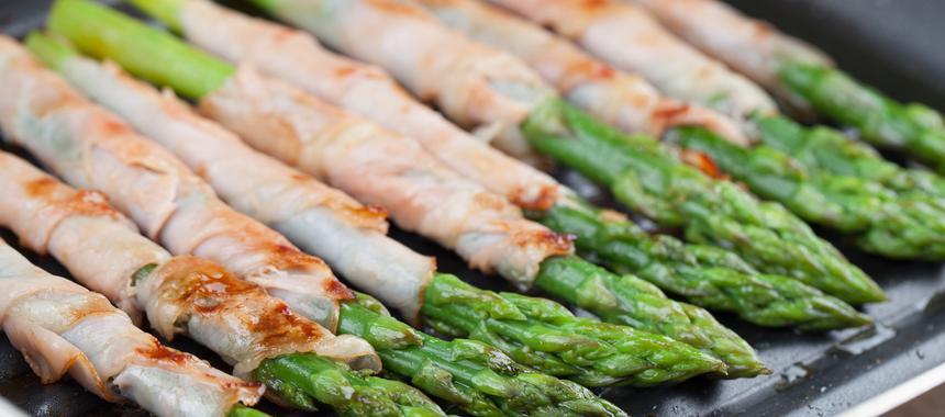Prosciutto-Wrapped Asparagus recipe