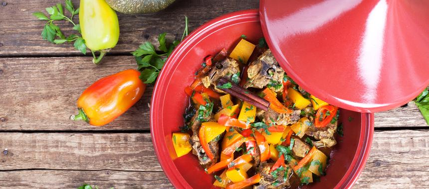 Lamb & Pear Tagine recipe