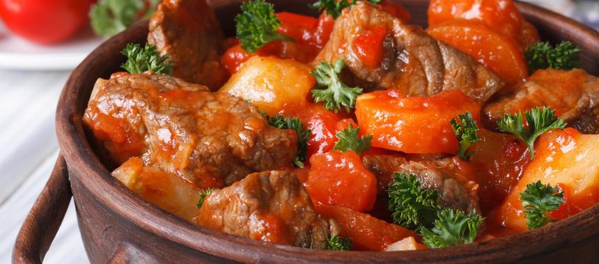 Lamb And Tomato Casserole recipe
