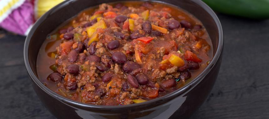 Lamb And Black Bean Chilli recipe