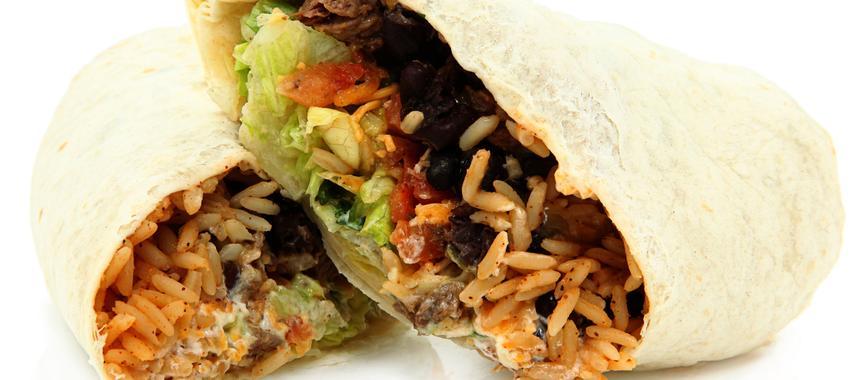 Bean And Rice Burritos recipe