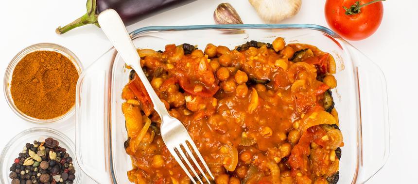 Bean Moussaka recipe